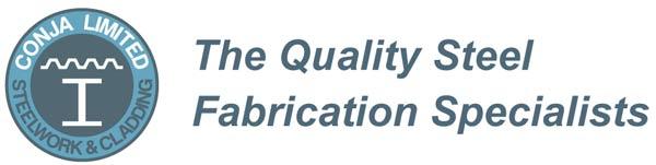 conja steel fabricators header logo